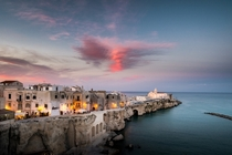 Vieste the pearl of Gargano Apulia Italy