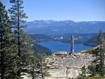 View above Donner Lake