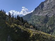 View after  hours into the hike Near Manali