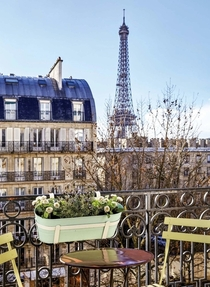 View from a Parisian apartment