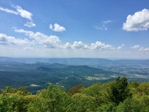 View from Appalachian Trail VA