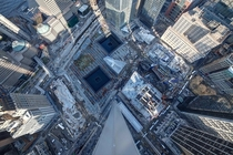 View from atop of the World Trade Center