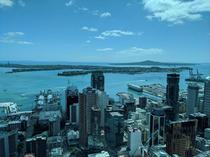 View from Auckland New Zealands Sky Tower