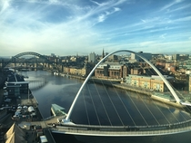 View from BALTIC Newcastle UK
