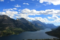 View from Bears Hump Waterton Alberta x