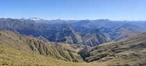 View from Ben Lomond track New Zealand