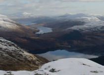 View from Ben Vane Scotland