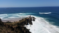 View from Byron Bay Lighthouse NSW Australia
