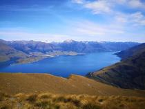 View from Isthmus Peak on Lake Wanaka One of my favorite places on the NZ South Island