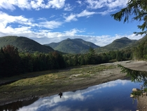 View From Marcy Dam Adirondack Park NY