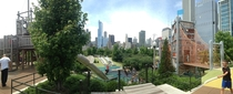 View from Millennium Park in Chicago x
