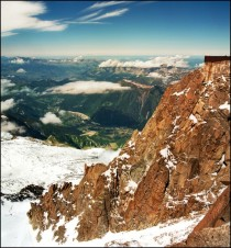 View from Mont Blanc France