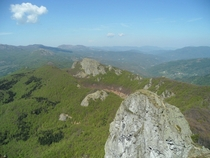 View from Monte Penna - Italy