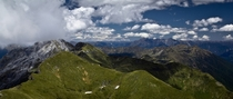 View from Mount Arthur New Zealand  by Tobias Cichon