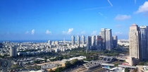 View from my office in Tel Aviv today