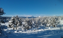 View from my porch in Central Oregon taken last winter
