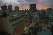 View from my room in Buenos Aires