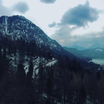 View_from Neuschwanstein