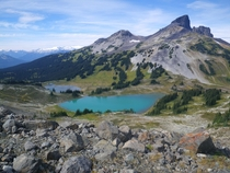 View from Panorama Ridge in Garibaldi Park BC