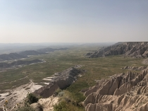View from Sheep Mountain Table Badlands National Park  Scenic SD  m