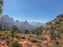View from Soldier Pass Trail in Sedona Arizona