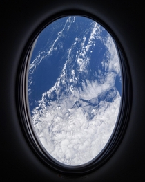 View from SpaceX Dragon