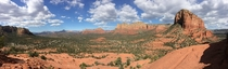 View from the Bell Rock Vortex at Sedona AZ
