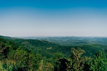 View from the Blue Ridge Parkway North Carolina