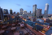 View from the Hotel de La Montagne Montreal