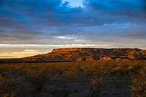 View from the Javelina Hideout near Big Bend National Park TX