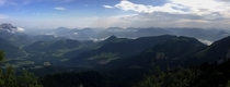 View from the Kehlsteinhaus Austria
