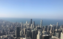 View from the rd floor of the Sears Tower