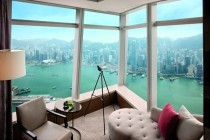 View from the Ritz Carlton in Hong Kong