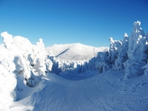 View from the summit of Cannon Mountain New Hampshire