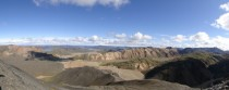 View from the Top of Blhnjkur - Landmannalaugar Iceland