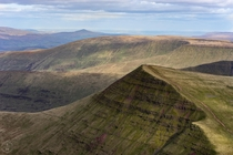View from the top of Pen Y Fan Wales