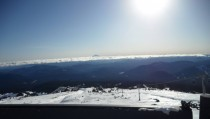 View From Timberline OR on Sunday