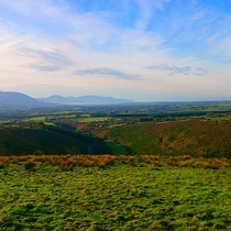 View from top of my farm in Glanageenty Kerry in Ireland