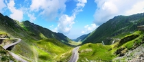 View from Transfagarasan Road Romania