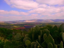 View from Tzipori Israel