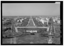 View from US Capitol looking West at National Mall and Washington Monument