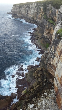 View from Wedding Cake Rock in Royal National Park Sydney  OC