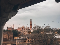 View of Badshahi Mosque from Royal fort