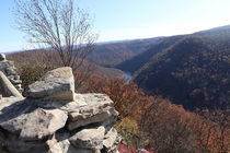 View of cheat lake from coopers rock WV photo credit to uterseruse x