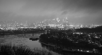 View of Cincinnati OH from MtEcho Park