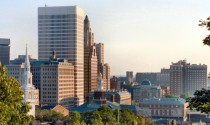 View of Downtown Providence Rhode Island