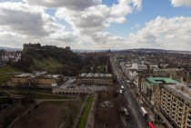 View of Edinburgh Scotland