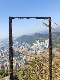 View of Hong Kong from Kowloon Peak