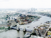 View of London from The Shard