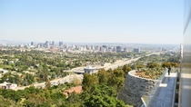 View of Los Angeles from The Getty Center